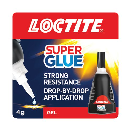 Loctite Control Power Gel Super Glue 4g 2633673