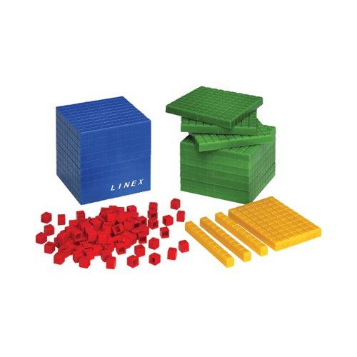 Linex 121 Pcs. Base Ten Set 400065104