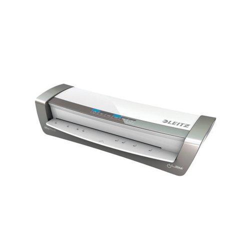 Leitz iLAM Office Pro Laminator A3 Silver/White 75181084