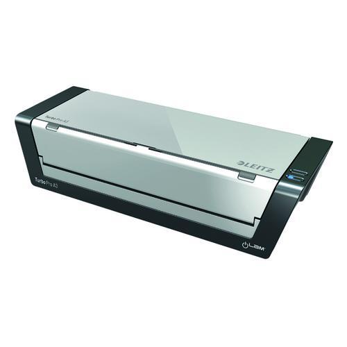 Leitz iLAM Touch Turbo Pro Laminator A3 Silver/Black 75191000