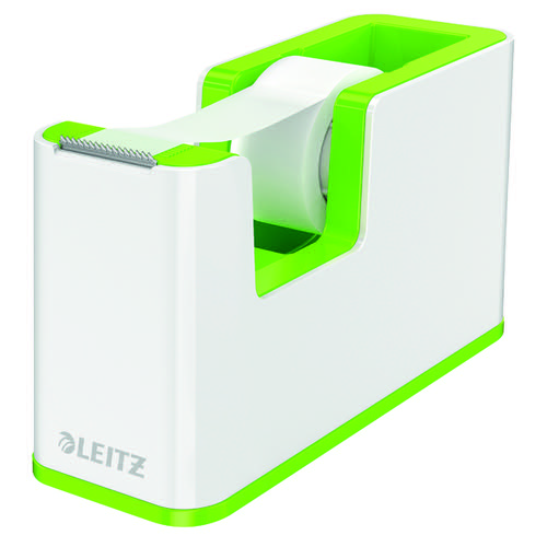 Leitz WOW Tape Dispenser Dual Colour White/Green 53641054