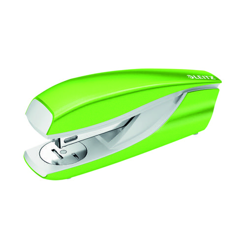 Leitz NeXXt WOW Metal Office Stapler 30 sheets Green 55021054