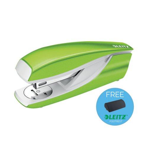 Leitz NeXXt WOW Metal Office Stapler 30 sheets Green 55021054