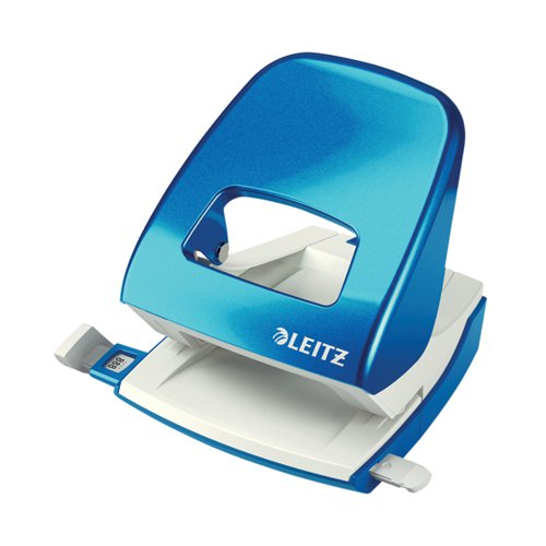 Leitz NeXXt WOW Metal Office Hole Punch Metallic Blue 50081036