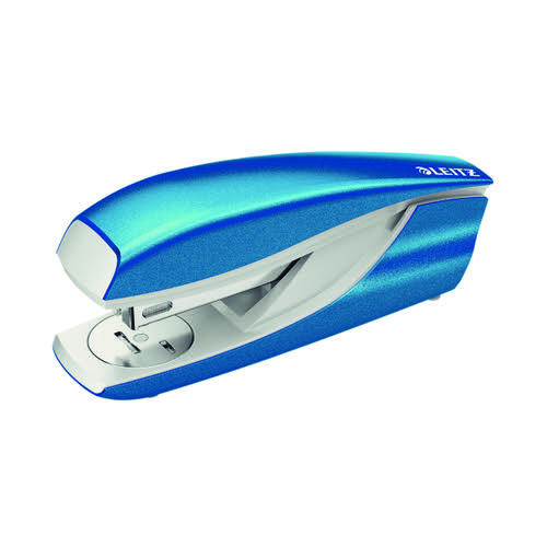 Leitz NeXXt WOW Metal Office Stapler 30 sheets Blue 55021036