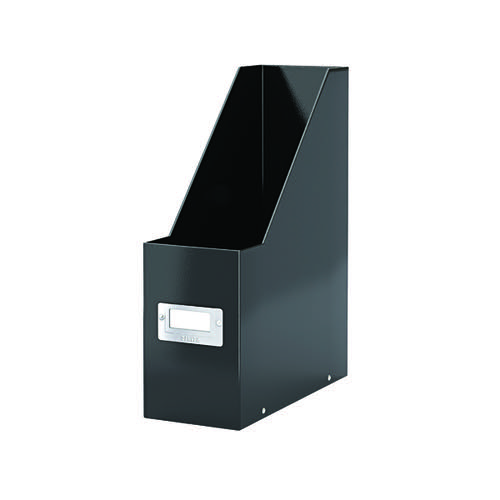 Leitz Click & Store Magazine File Black (Back and front label holder for easy indexing) 60470095