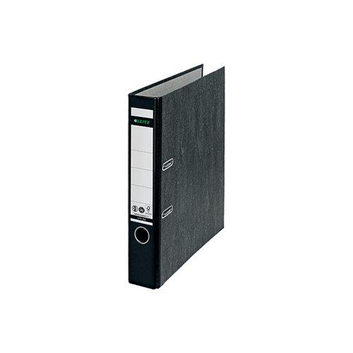 Leitz Board Mini Lever Arch File A4 52mm Black 10501095