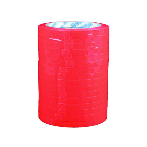 Polypropylene Tape 9mmx66m Red (Pack of 16) 70521252