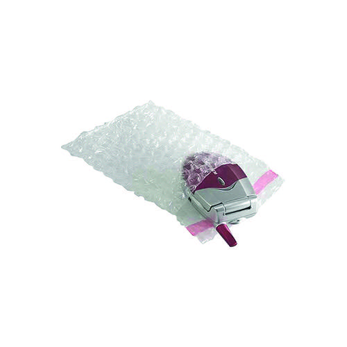 Jiffy Bubble Film Bag 380x435mm Clear (Pack of 100) BBAG38107