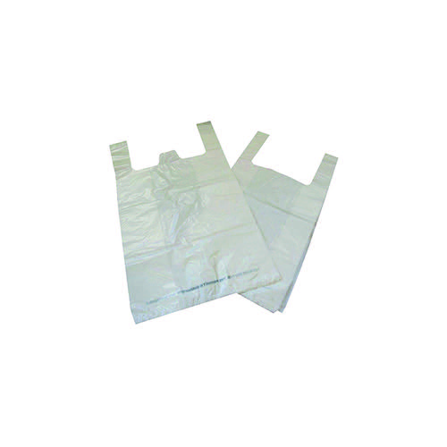 Compare retail prices of Carrier Bag Biodegradable White (Pack Of 1000) Ma21135 to get the best deal online