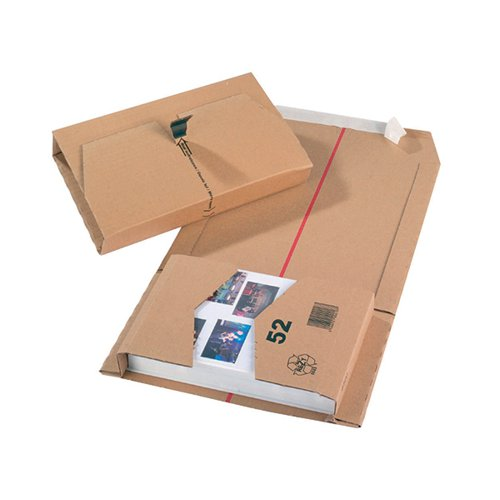 Mailing Box 270x190x80mm Brown (Pack of 20) 11210