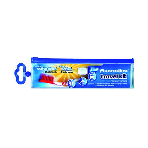 Fluorodine Travel Kit (Pack of 12) TFLTK