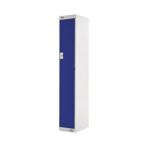 Single Compartment Locker 300x300x1800mm Blue Door MC00001