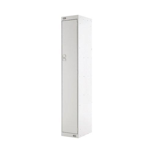 Single Compartment Locker D300mm Light Grey Door MC00002