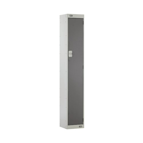 Single Compartment Locker D300mm Dark Grey Door MC00003