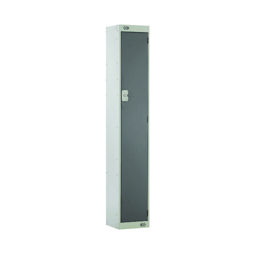 Single Compartment Locker 300x300x1800mm Dark Grey Door MC00003