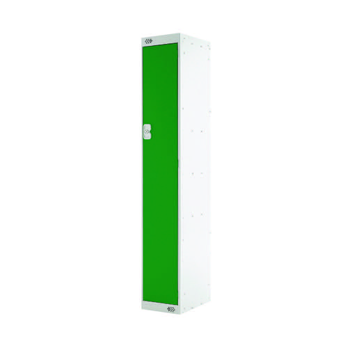 Single Compartment Locker D300mm Green Door MC00004