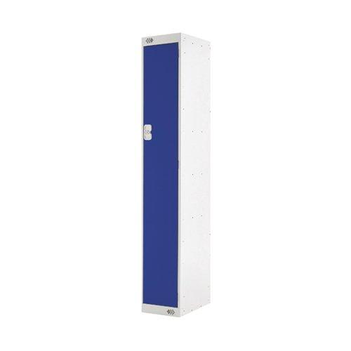 Single Compartment Locker 300x450x1800mm Blue Door MC00037