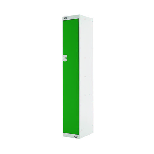 Single Compartment Locker D450mm Green Door MC00040