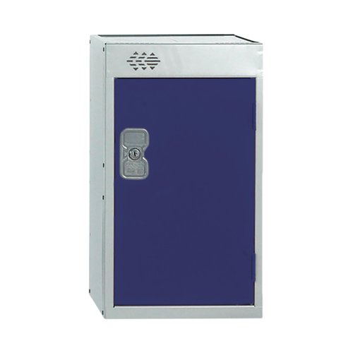 One Compartment Quarto Locker D300mm Blue Door MC00073