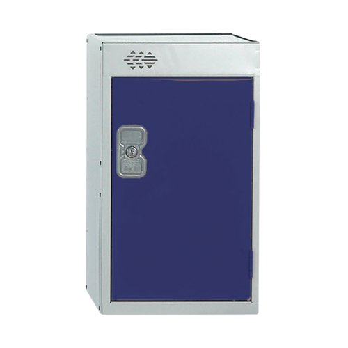 One Compartment Quarto Locker D450mm Blue Door MC00079
