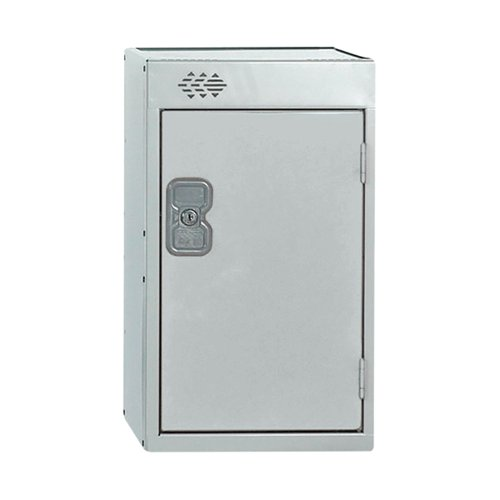 One Compartment Quarto Locker D450mm Light Grey Door MC00080