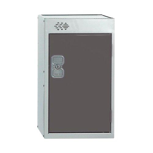 One Compartment Quarto Locker 300x450x511mm Dark Grey Door MC00081