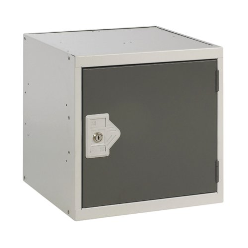 One Compartment Cube Locker D300mm Dark Grey Door MC00087