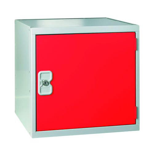 One Compartment Cube Locker D300mm Red Door MC00089