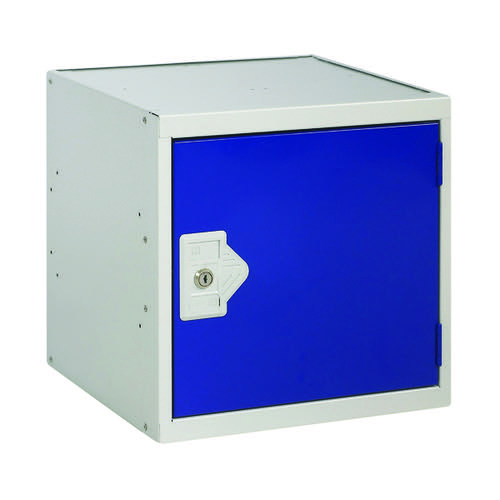 One Compartment Cube Locker D380mm Blue Door MC00091