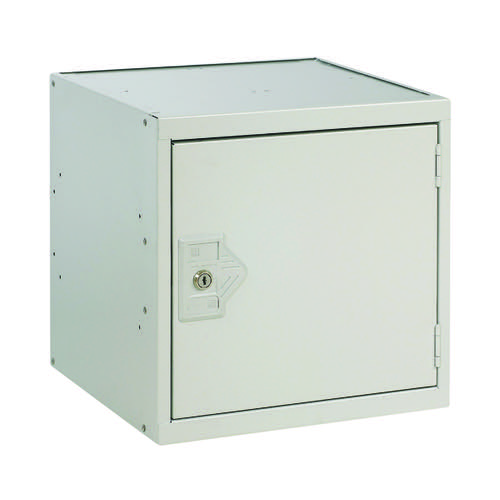 One Compartment Cube Locker D380mm Light Grey Door MC00092
