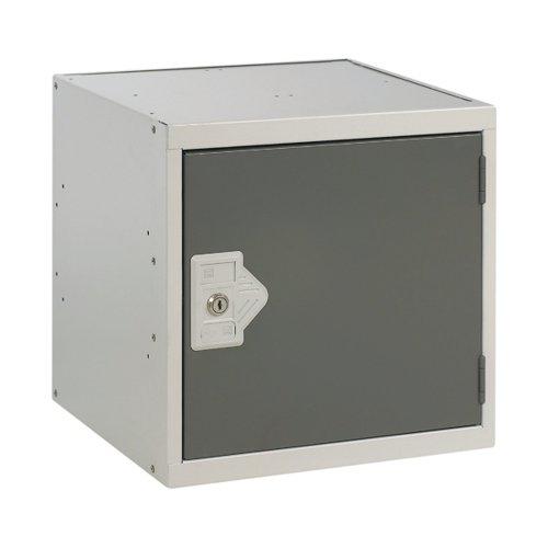 One Compartment Cube Locker D380mm Dark Grey Door MC00093