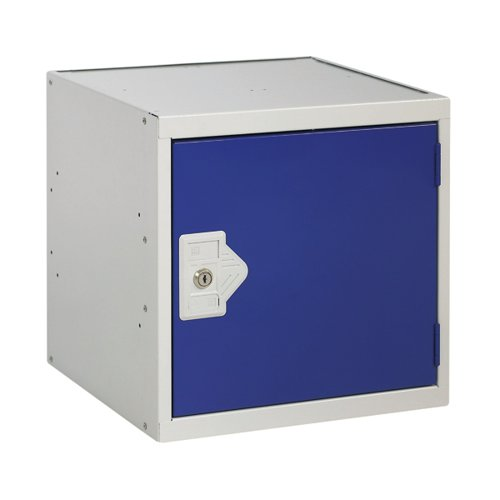 One Compartment Cube Locker D450mm Blue Door MC00097