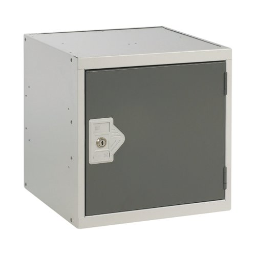 One Compartment Cube Locker D450mm Dark Grey Door MC00099