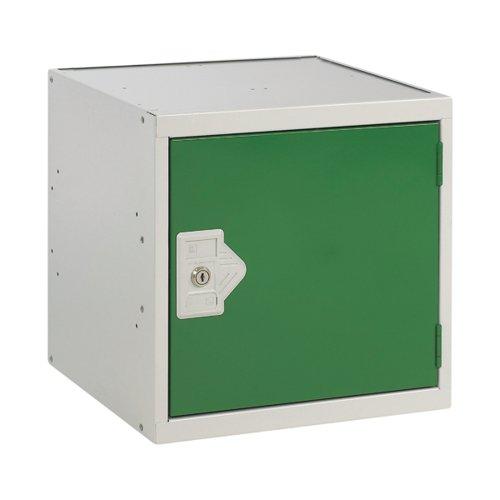 One Compartment Cube Locker 450x450x450mmm Green Door MC00100