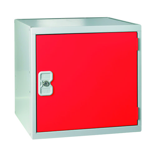 One Compartment Cube Locker D450mm Red Door MC00101