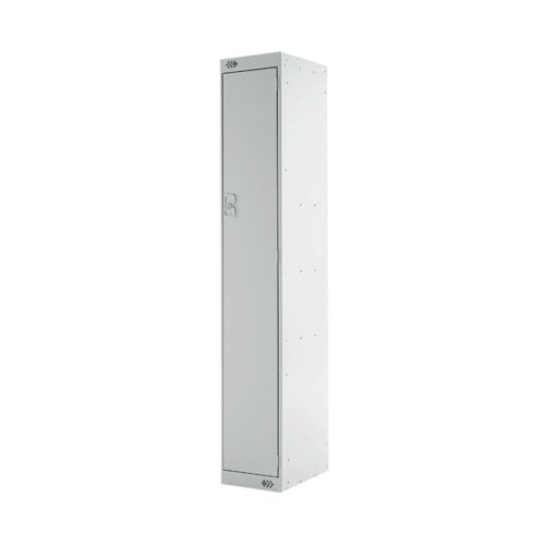 Express Standard Locker One Compartment Light Grey 300mm Deep MC00137