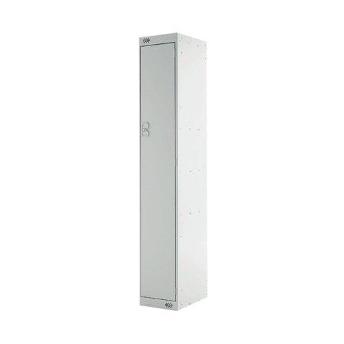 Express Standard Locker 1 Door 300x300x1800mm Light Grey Deep MC00137