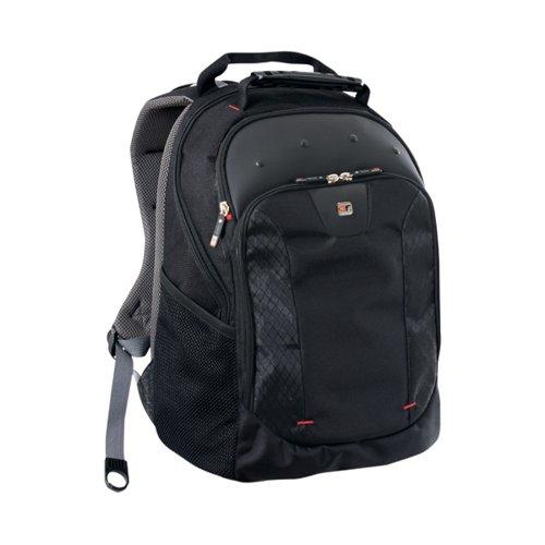 Gino Ferrari Juno 16 inch Laptop Backpack Black GF501