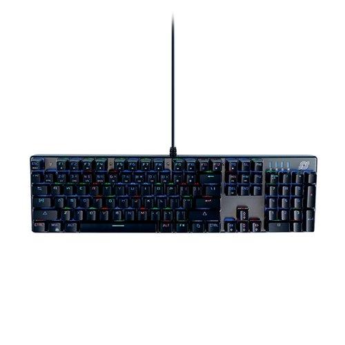 MediaRange Gaming Wired Keyboard with 104 Keys 14 Colour Modes QWERTY (UK) Black/Silver MRGS101-UK