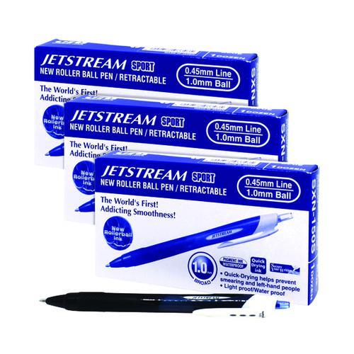 Uni-Ball Jetstream Sport SXN Blue 3 For 2 MI811905