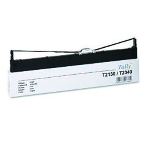 Tally Fabric Ribbon T2130 Black 044830