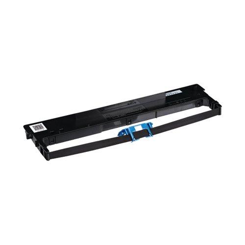 Tally Fabric Ribbon 2600 Plus Black 099003L