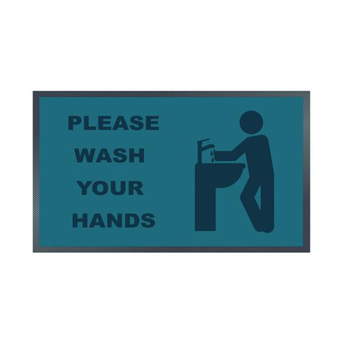 Please Wash Your Hands Sink Mat 85 x 150cm 19258647
