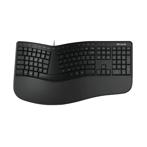 Microsoft Ergonomic Keyboard Black LXM-00004