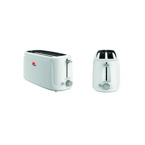 MyCafe White 4 Slice Toaster (Reheat defrost and cancel buttons) EV3005
