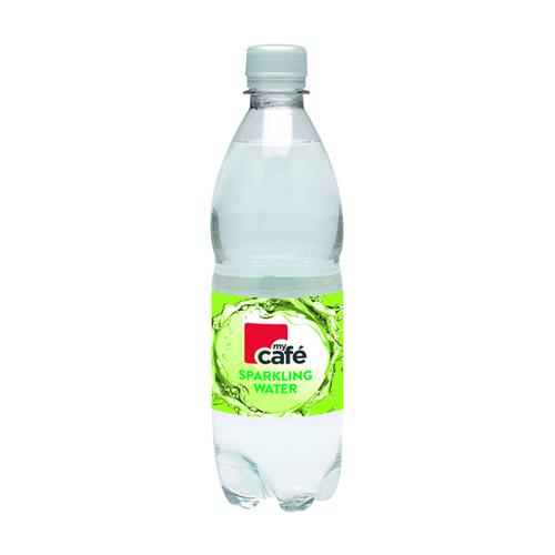 MyCafe Sparkling Water 500ml Bottle (Pack of 24) 0201029