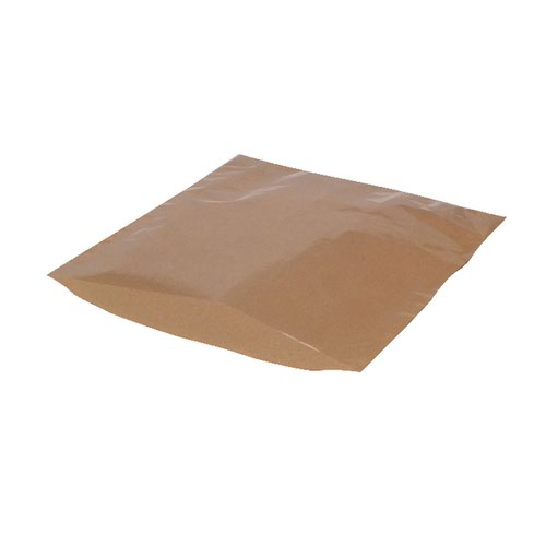 MyCafe Kraft Film Front Bags 215x215mm Brown (Pack of 1000) 303256