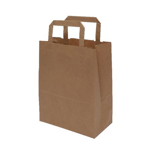 MyCafe Kraft SOS Carriers Internal Handles 175x95x215mm Brown (Pack of 500) 304704