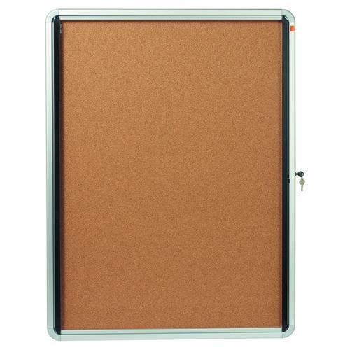 Nobo Internal Glazed Case Cork 9 x A4 1902564